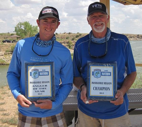 Jim simpson wins panhandle region 2013 championship for Ute lake fishing report