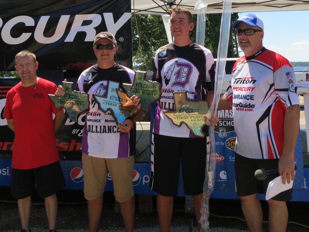 1st Place Team, Joseph Bruener &  Jack Garner