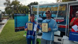 2016 Texas BASSMASTER Team Trail Champions – Terry Reich and Dustin Hill