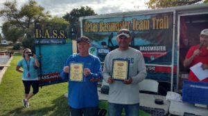 2016 2nd Place Team - Texas BASSMASTER Team Trail – Curt McCauley and Sean Hoernke